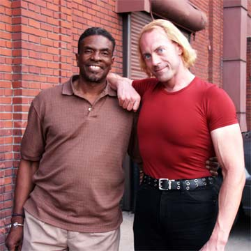 Keith David and Trygve Lode