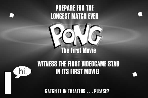 Pong - the First Movie
