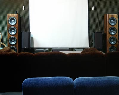 home theater screen