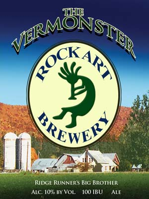 Rock Art Brewery Vermonster beer